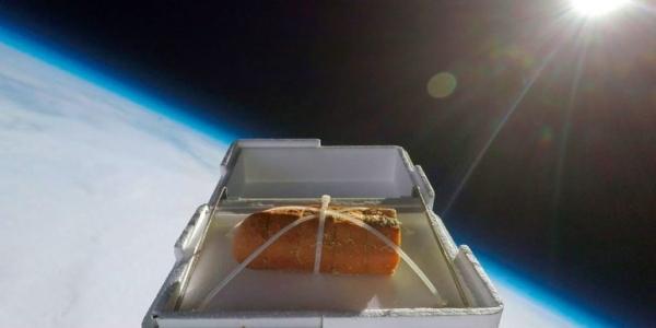 Хотите съесть чесночный хлеб, который только прикоснулся к космосу?