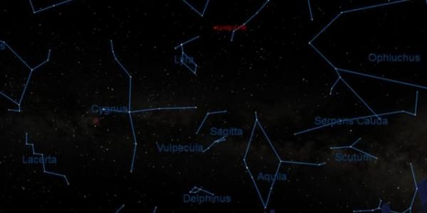 Метеоритный дождь Lyrid: где, как и когда?