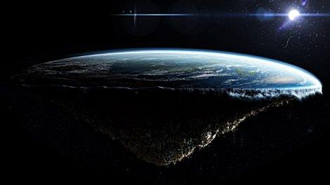 Говорят, плоская земля - не бредовая идея, а реальный факт