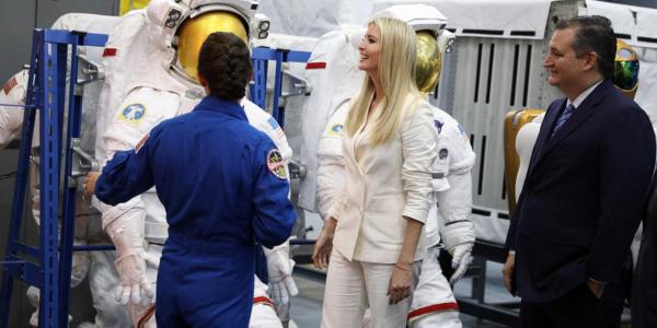 Иванка Трамп решила покорить космос! Новые чудачества семейки