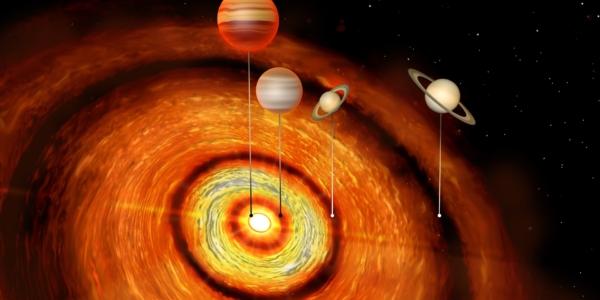 Чужеродные планеты вокруг новорожденной звезды - открытие века!