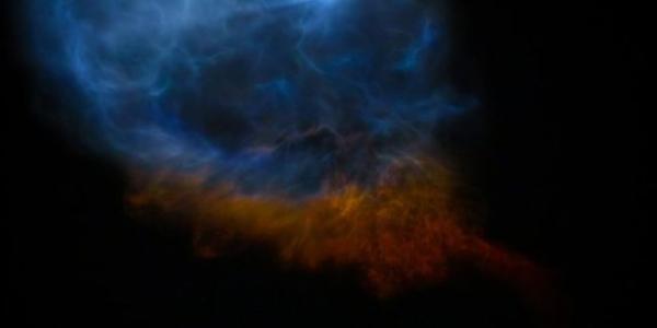 Невероятные ночные снимки взлета и посадки ракеты SpaceX - словно прибытие инопланетян!