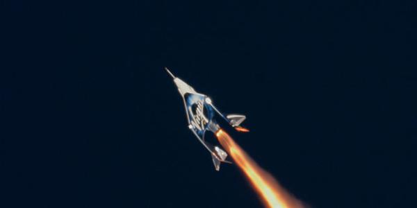 Невероятное видео Virgin Galactic, сделанные аппаратом в первый полет