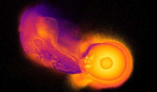 Нечто огромное врезалось в Уран и перевернуло его на бок