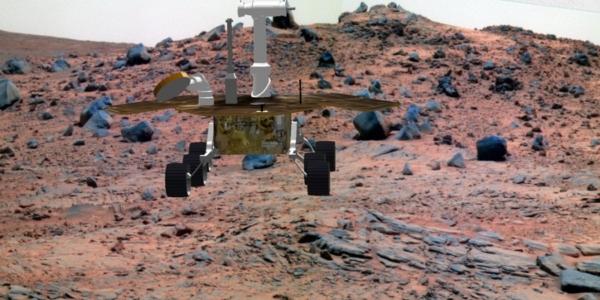 Инженеры компании InSight создали каменный марсианский сад