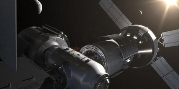 NASA собирается построить лунную орбитальную платформу-шлюз