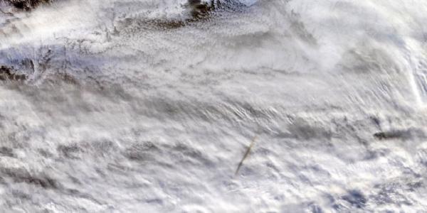 Огненный шар в Беринговом море