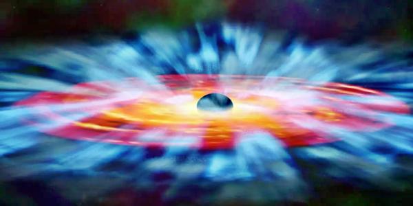 Газовые облака и черные дыры в космосе