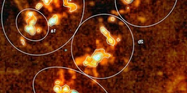Первое наблюдение за областью образования звезд в высоком разрешении
