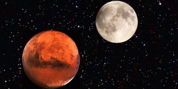 Утро вторника: Луна отправилась к марсианскому югу