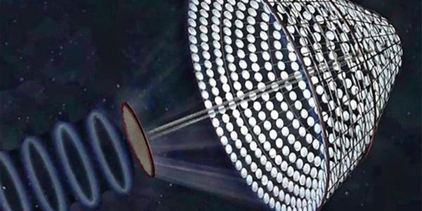 Прототип солнечной батареи в космосе