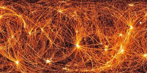 Рентгеновский снимок ночного неба поражает