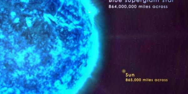 Астрономы наконец-то увидели поверхность таинственных голубых супергигантов