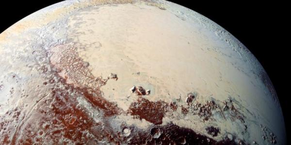 Вулканы на Плутоне извергаются водой