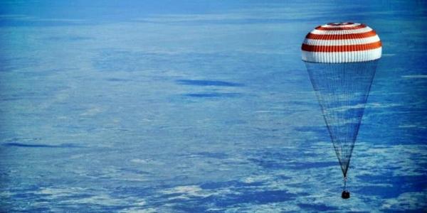 Астронавты вернулись домой