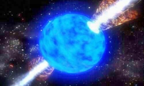 Тяжелые металлы Земли - результат взрыва сверхновой