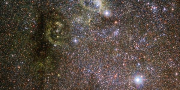 Хаббл делает снимок «неправильной» галактики