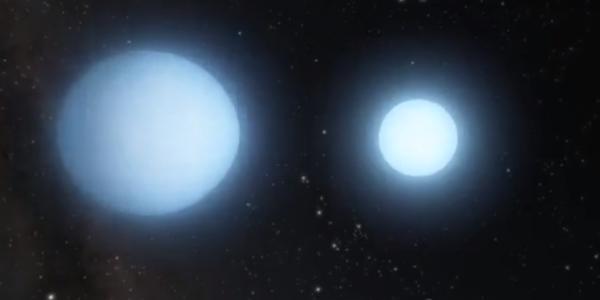 Учёные нашли пару танцующих мертвых звезд