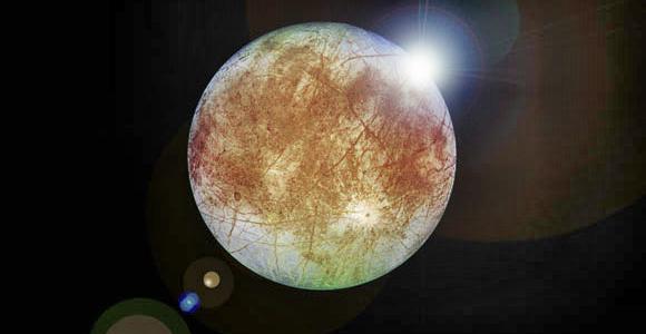 Ученые находят благоприятную точку для изучения луны, Европы
