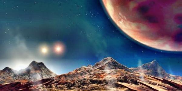 На найденной учеными планете 3 солнца