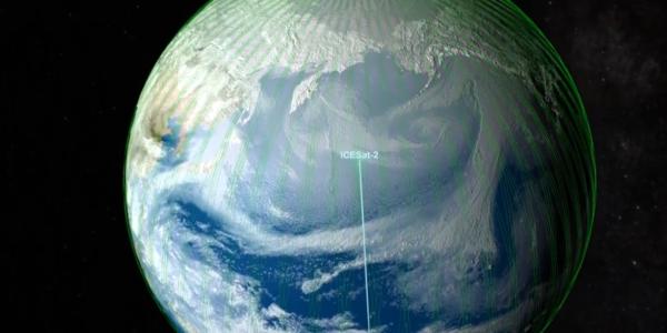 Спутники составили точную карту льда Антарктиды