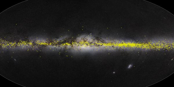 Создана трехмерная модель галактики Млечного Пути