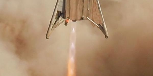 Звездный попрыгунчик SpaceX приземлился в последний раз