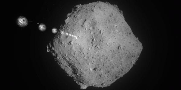 Японский аппарат сбросил маркеры на астероид Ryugu
