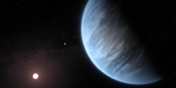 Инопланетный мир демонстрирует большое количество водяного пара