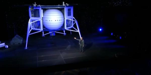Джефф Безос открывает команду мечты Голубого происхождения на Луну астронавтам НАСА