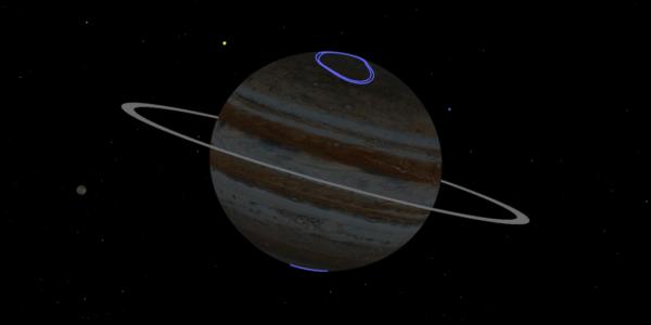 Юнона НАСА готовится перепрыгнуть через тень Юпитера