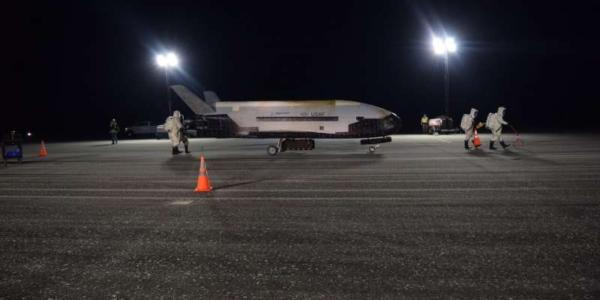 Загадочный космический самолет ВВС приземляется, заканчивается 2-летняя миссия