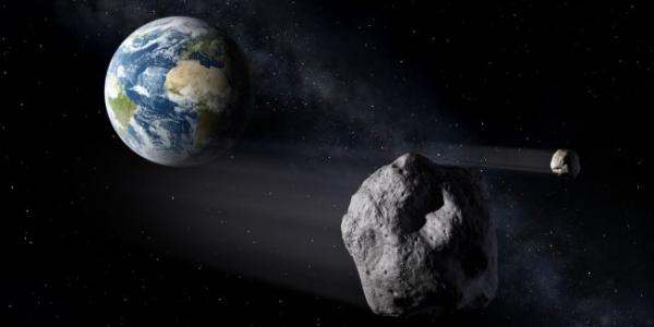 Мимо Земли пролетели аж четыре астероида