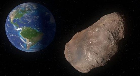 Астероид размером с пирамиду пролетел мимо Земли (снова)