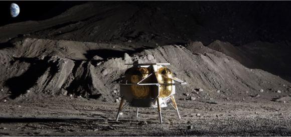 Исследованием Луны займутся роботы-пауки
