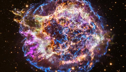 Невероятное зрелище трансформации суперновой