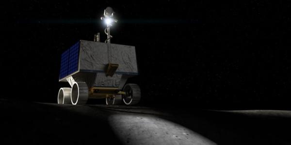 Как VIPER НАСА будет бурить лунный лед