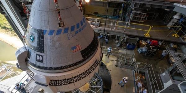 Посмотрите, как Starliner Boeing впервые встретит свою ракету