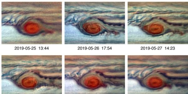 Огромное штормовое красное пятно на Юпитере не собирается умирать