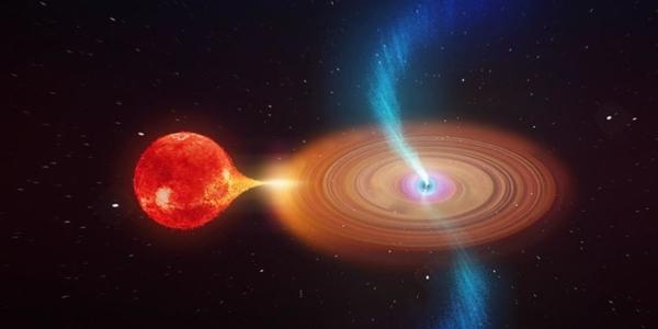 Наш галактический центр поглощает все подряд с огромной скоростью
