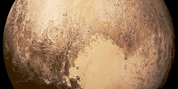 Сердце Плутона превращается в лед ночью
