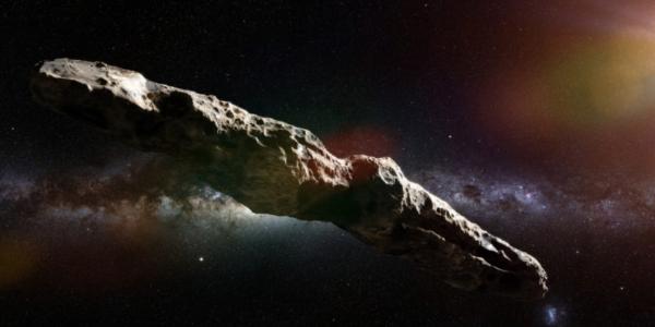 Межзвездный путешественник Oumuamua - космическая шерстяная мышь