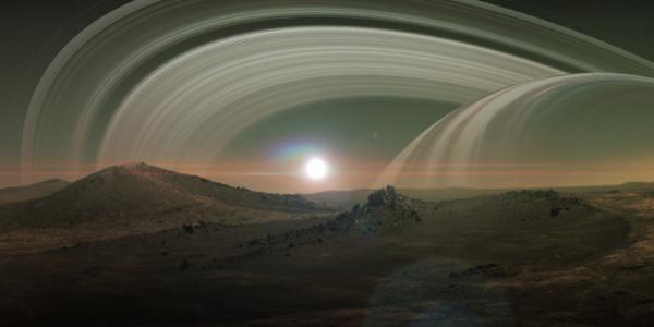 Обновленная хронология системы Сатурна: Титан оказался гораздо моложе?