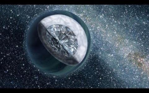 Алмазная экзопланета Янссен - космические копи Соломона