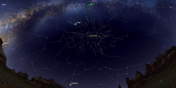 Драконий звездопад седьмого октября