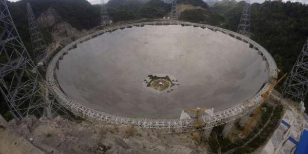 Китай открывает крупнейший во всем мире радиотелескоп