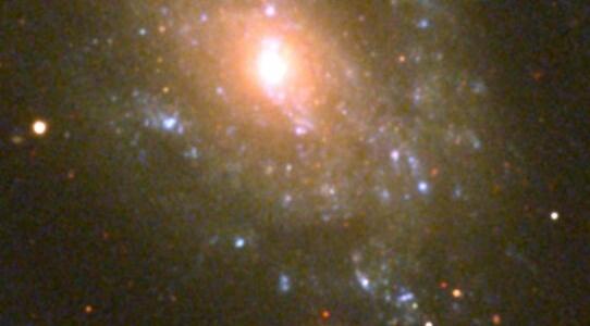 Тайна ионизированного пузыря галактики NGC 5585 X-1