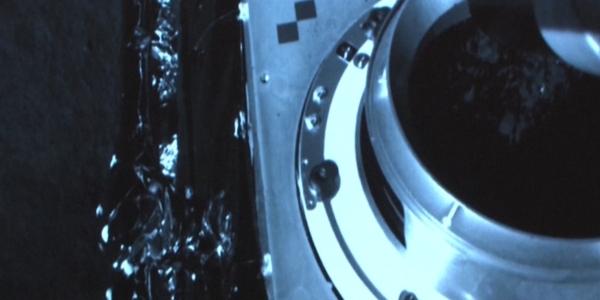 Уникальное видео посадки зонда Chang'e 5 на Луну