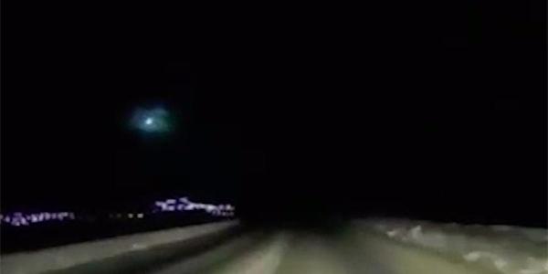 Над Камчаткой зафиксировали разрушение космического пришельца