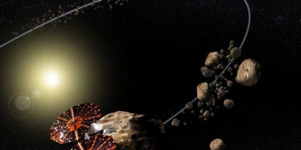 Зонд Люси выходит на охоту: цель - Троянские астероиды (видео)